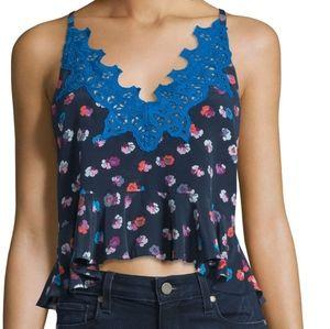 Rebecca Taylor Sakura Floral Print Camisole Top